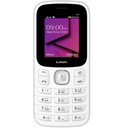Lava A1 Keypad Phone [basic phone] buy online