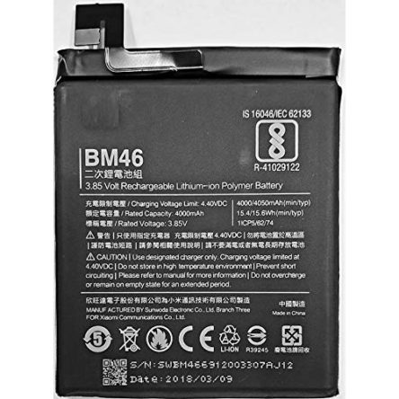 Redmi MI Note 3 BM-46 4000 mAh Battery buy online