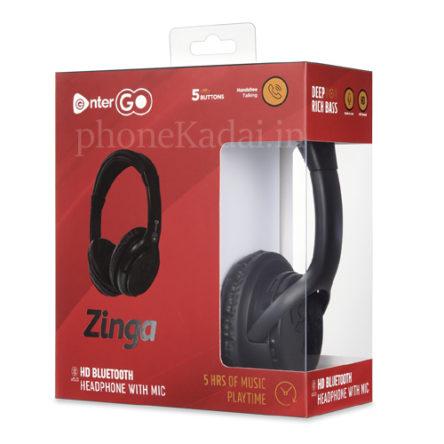 EnterGo Zinga Wireless Boom Headphone [Boom Headset] buy Online