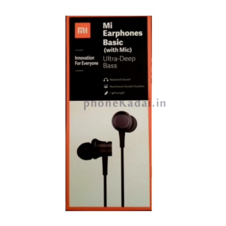 Mi Earphones Basic Ultra Deep Bass Headset with Mic