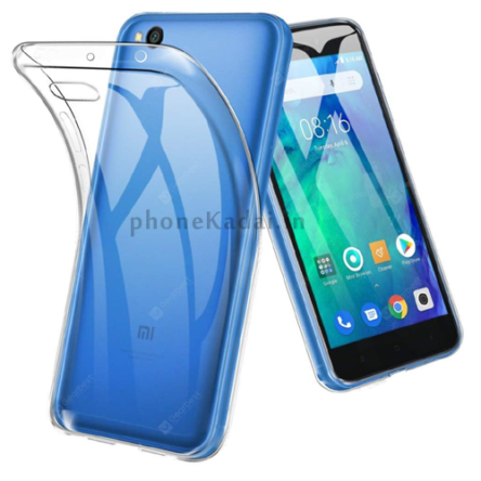 Redmi Go High Quality Transparent Back Cover Buy Online