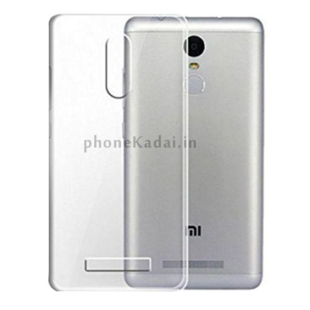 Redmi Mi Note 3 High Quality Transparent Back Case Buy Online