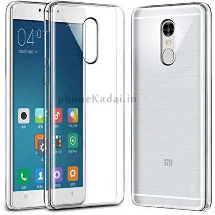 Redmi Mi Note 5 High Quality Transparent Back Case – All India Free Shipping