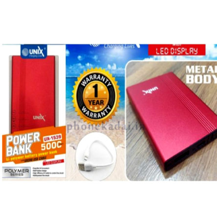Unix UX-1539 5000mAh Power Bank Buy Online