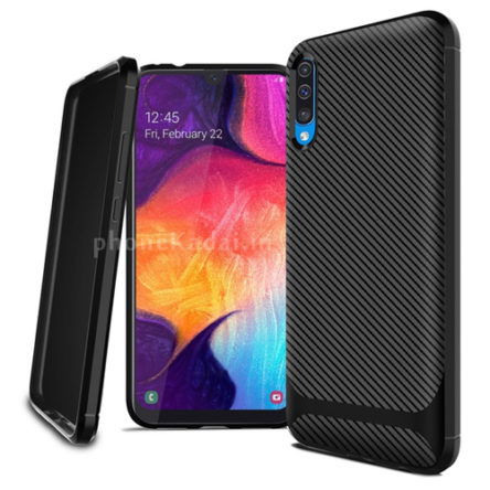 Redmi 7a Carbon Fibre Grip TPU Back Case-Back Cover