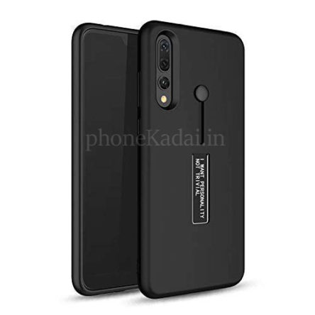 Vivo V15 Personality TPU + PC Dual Layer with Stand & Finger Holder Back Case Cover