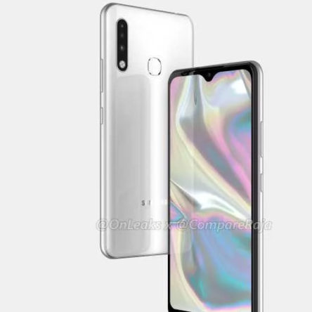 Leaked renders New Samsung Galaxy A70e features