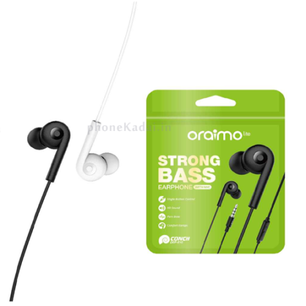 Oraimo OEP-E10 Storng Bass Earphone with Mic Wired Headset