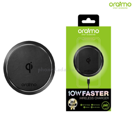 Oraimo Pie OWH-61S 10W Faster Wireless Charger with Multi-Protection (AC Adapter Not Include)