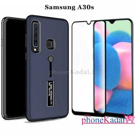 Samsung A30s Back Case and Tempered Glass Combo Offer