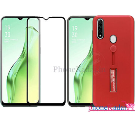 Oppo Narzo 10A Back Case and Tempered Glass buy Online