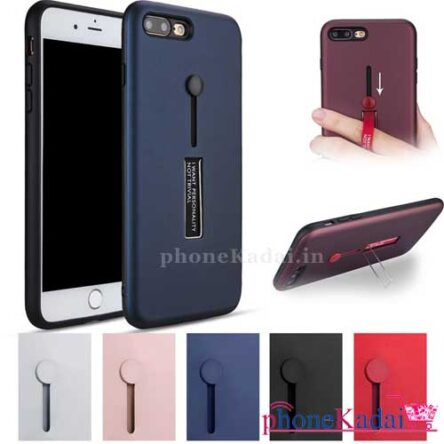 Iphone 7 Plus Stand Back Case with Finger Holder