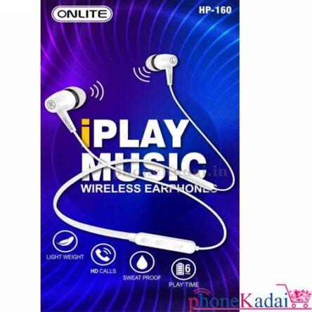 Onlite HP-160 IPlay Music Wireless Earphone