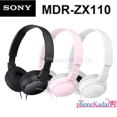 Sony MDR-ZX110 Wired Boom Headset without Mic buy online