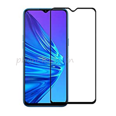Realme 5 Edge to Edge 9H full Tempered Glass