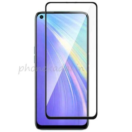 Realme 6 Edge to Edge 9H full Tempered Glass