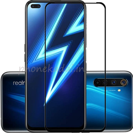 Realme 6 Pro Edge to Edge 9H full Tempered Glass