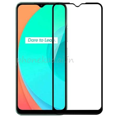 Realme C11 Edge to Edge 9H full Tempered Glass