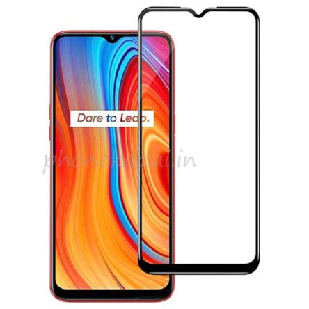 Realme C3 Edge to Edge 9H full Tempered Glass