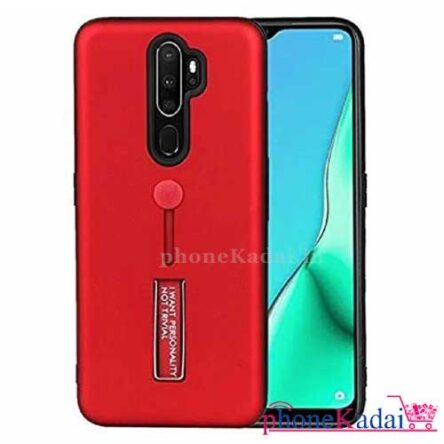 Realme X2 Pro Stand Back Case with Finger Holder