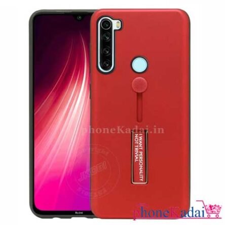Redmi Note 8 Stand Back Case with Finger Holder