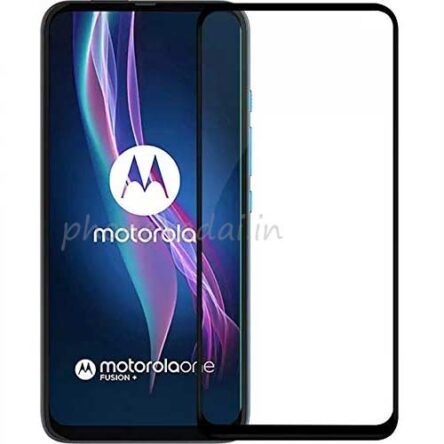 Moto One Fusion Ceramic 9D 9H Unbreakable Full Tempered Glass