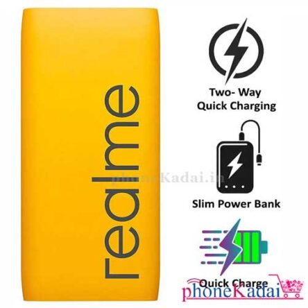 Realme RMA138 18W 10000mAh Fast Charging Power bank