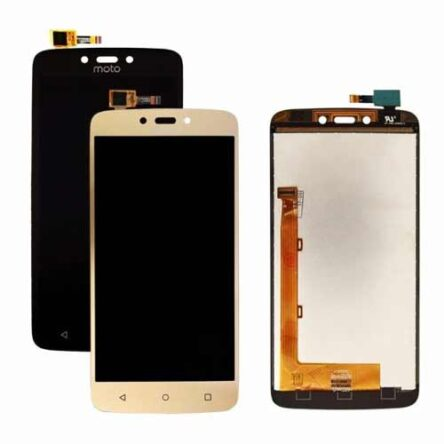 Moto C Plus LCD Display with Touch Screen Combo Folder